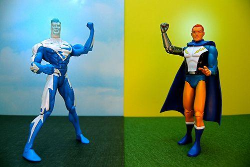 Duel supers héros