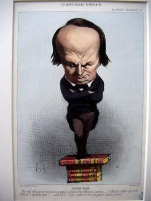 Victor Hugo par Daumier