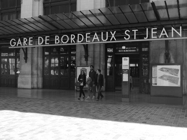arrivée Bordeaux