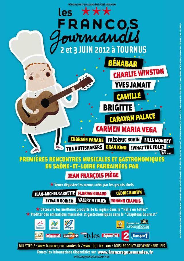 Les Francos Gourmandes 2012