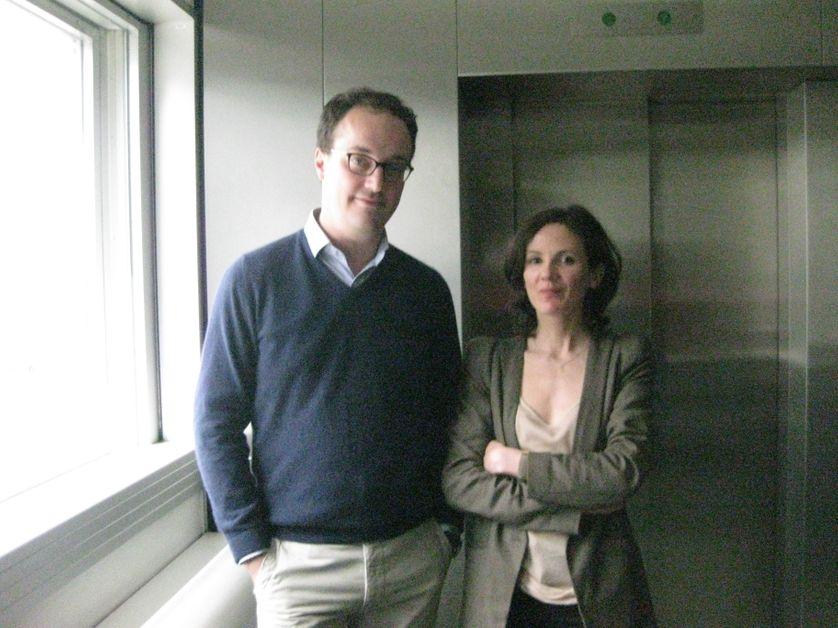 Haud Guégen et Guillaume Malochet