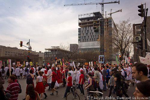 Etudiants manifestants (Québec)