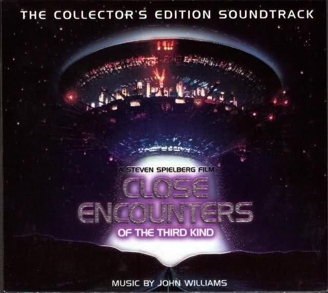 Close Encounters of the Third Kind : CD de la musique du film de Steven Spielberg.