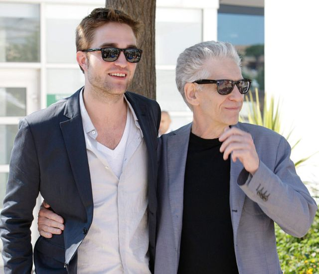 Robert Pattinson et David Cronenberg