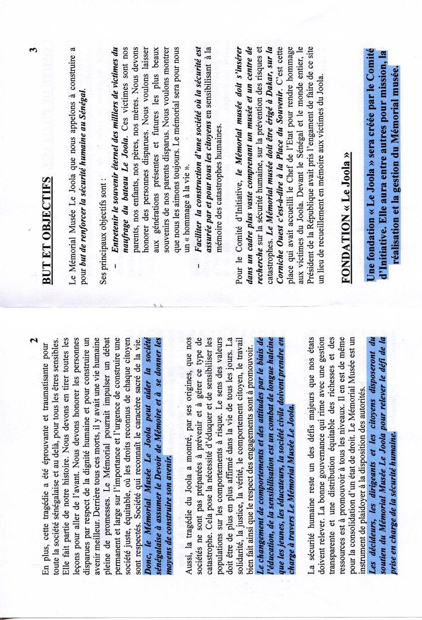 Projet - page 2 et 3