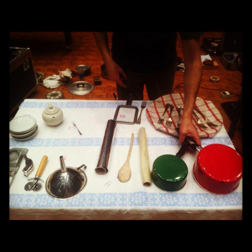 Fabio Bonnelli et sa Musica da cucina