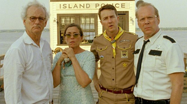 Bill Murray, Frances McDormand, Edward Norton et Bruce Willis