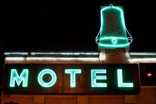 Blue Motel, Ventura (Californie)