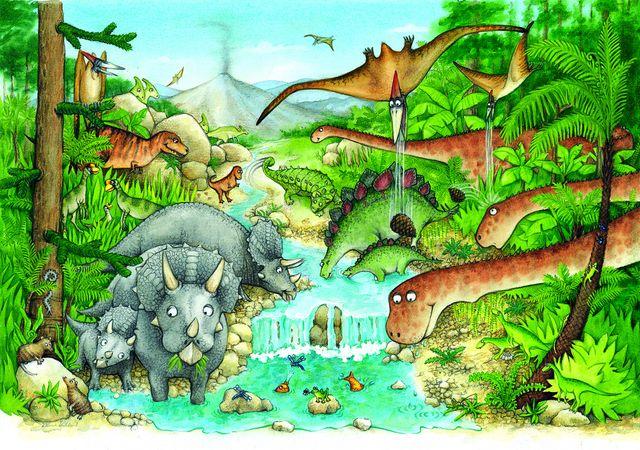 Dinosaures (dinosaur frolicks)