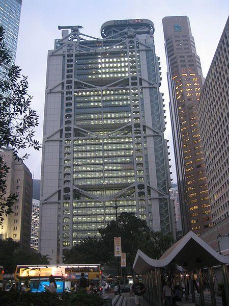 Hong Kong - L'immeuble HSBC signé Norman Foster