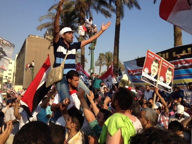 Les supporters de Mohamed mrosi après sa victire
