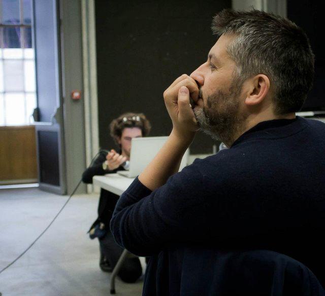 Christophe Honoré au travail