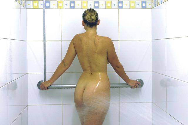 douche aux jets