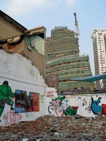 Démolition Chine
