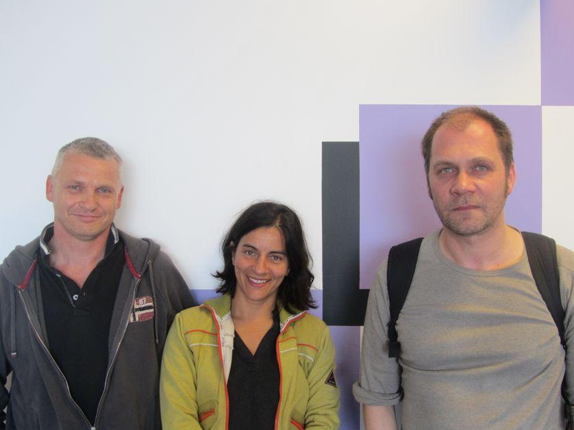 Philippe Guisgand, Johanne Saunier, Jean-Luc Plouvier