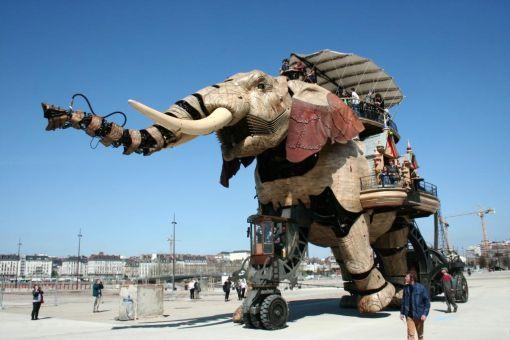 L'éléphant de la machine de l'Île