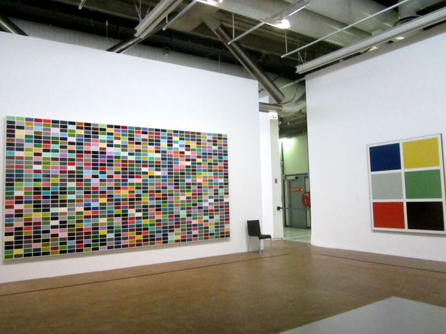 Gerhard Richter, tableaux colorés