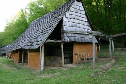 Restitution maison gauloise