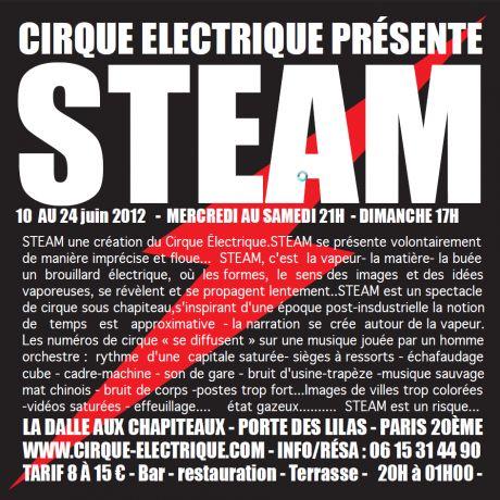 Le cirque électrique - Steam