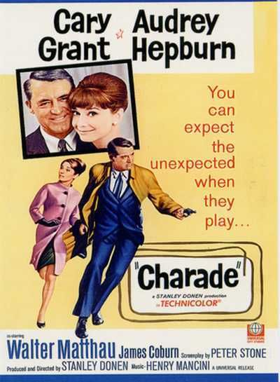 Affiche film charade
