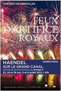 Feux d'artifice royaux