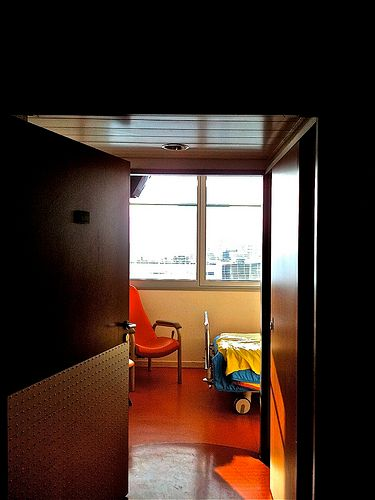 Chambre hôpital Pompidou, Paris