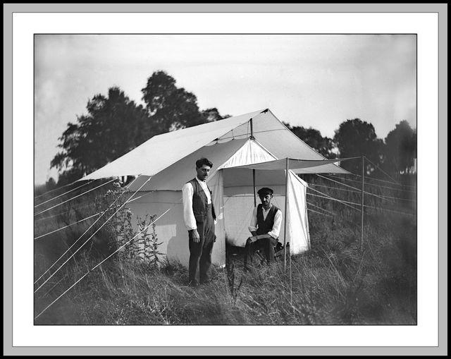 Camping en 1920