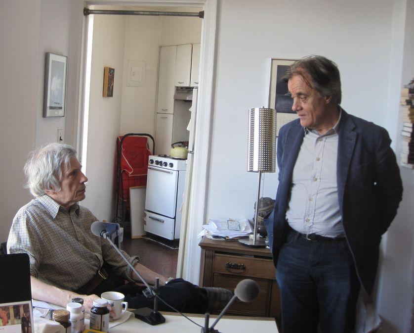Jerome Charyn et Michel Schneider