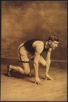 Jim Frances Thorpe au départ