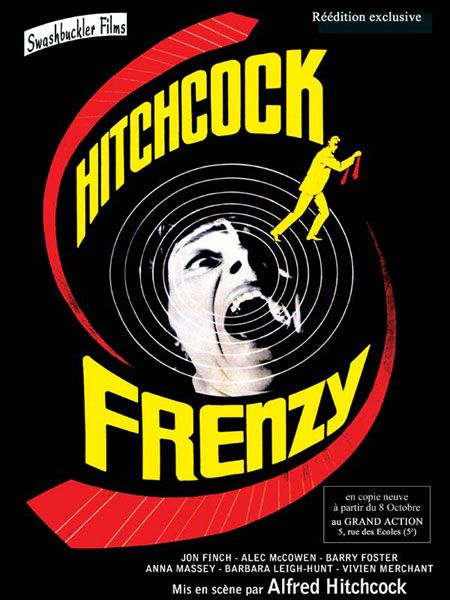 Affiche Frenzy Hitchcock