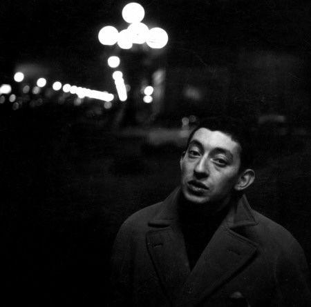 Serge Gainsbourg à Paris en 1960