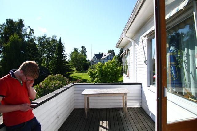 Chez Khalid, à Hamar, près du lac Mjosa, à une heure d'Oslo