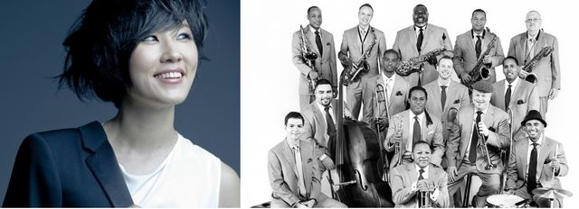 Youn Sun Nah et Jazz at Lincoln Center Orchestra with Wynton Marsalis
