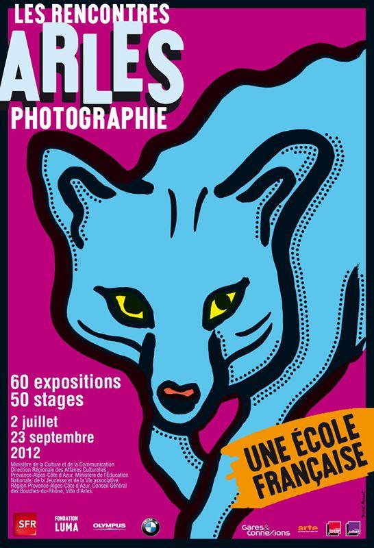Affiche Les Rencontres d'Arles 2012