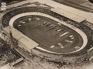 Stade Olympique d'Amsterdam, médaille d'or d'architecture aux JO de 1928