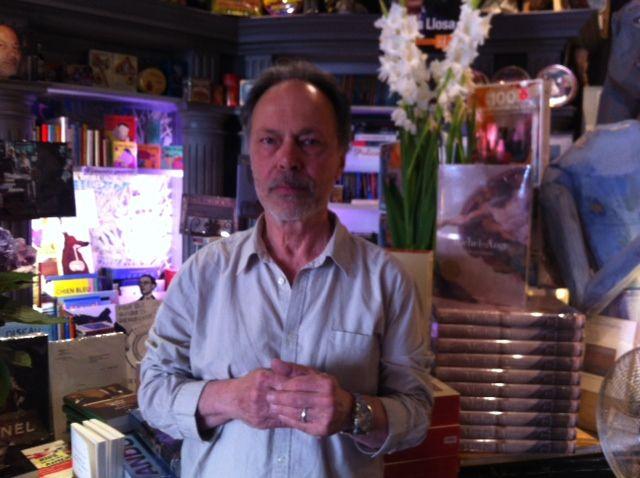 """Emmanuel Delhomme, libraire à """"Livre Sterling"""""""