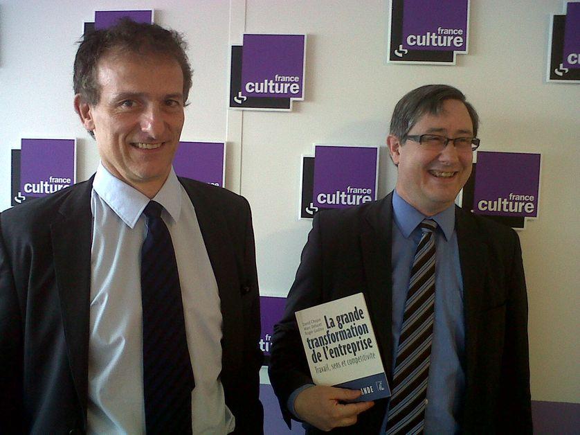 Gilbert Cette et Marc Deluzet