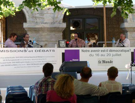 Jean-François Pinchon, Daniel Bartement, Hervé Gardette et Christian Bataillou