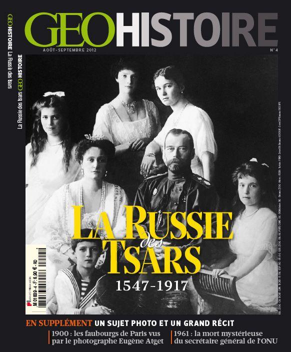 Géo - la russie des tsars