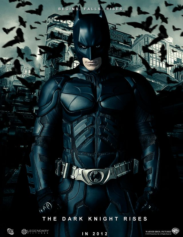 Batman, the Dark Knight Rises, de Christopher Nolan