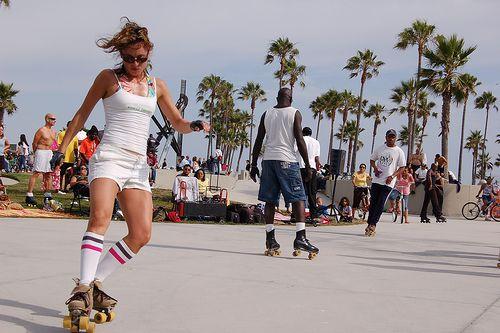 Roller Skating at Venice Beach, 25 juin 2006