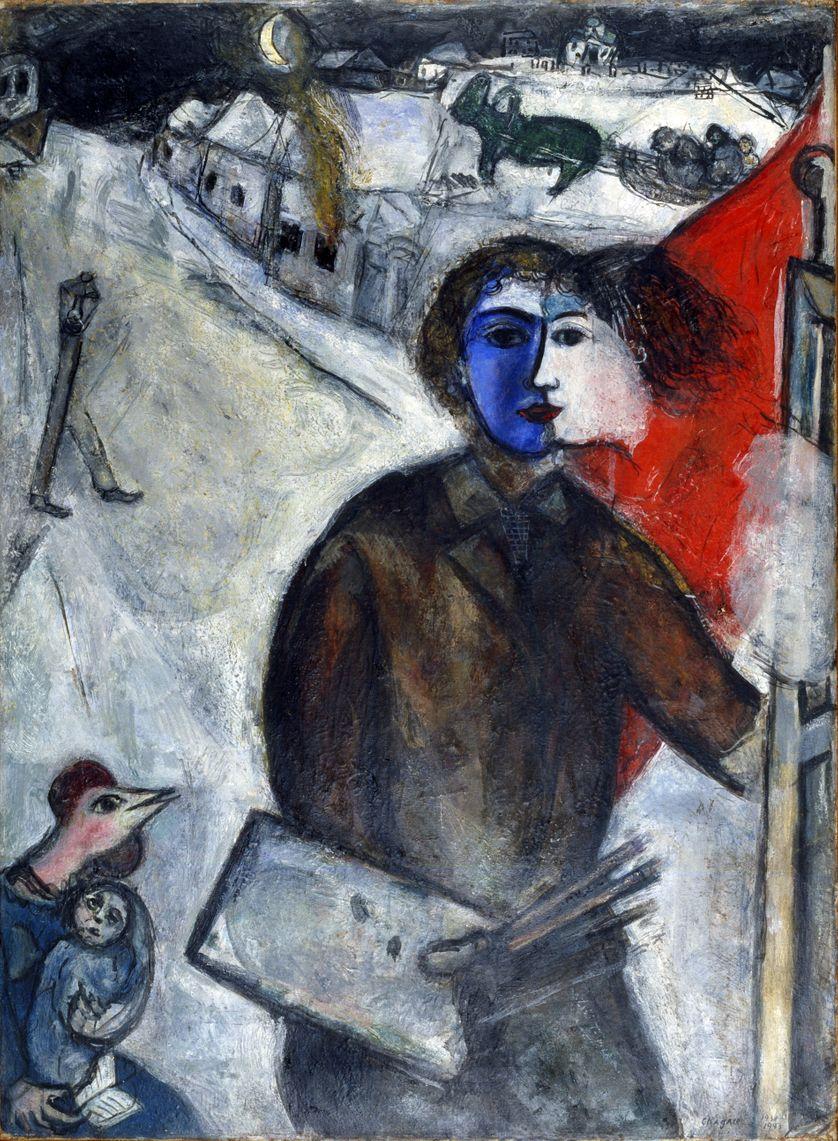 Marc Chagall, Entre chien et loup 1938-1943 (100x73cm)