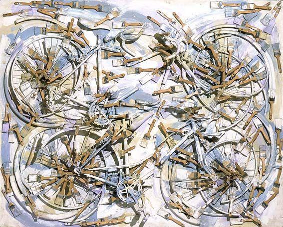 Arman, Dans un Champs de Lavande, 1997