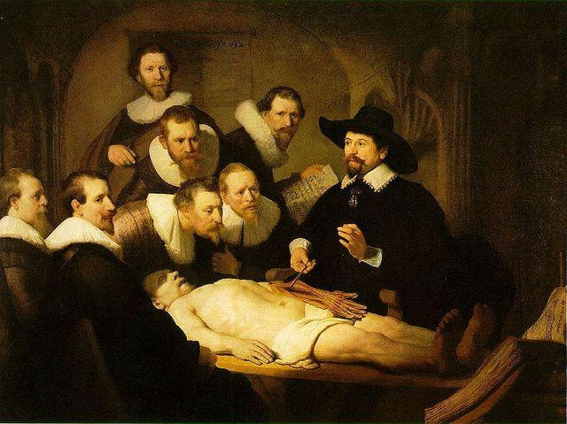 Leçon d'anatomie du docteur Tulp