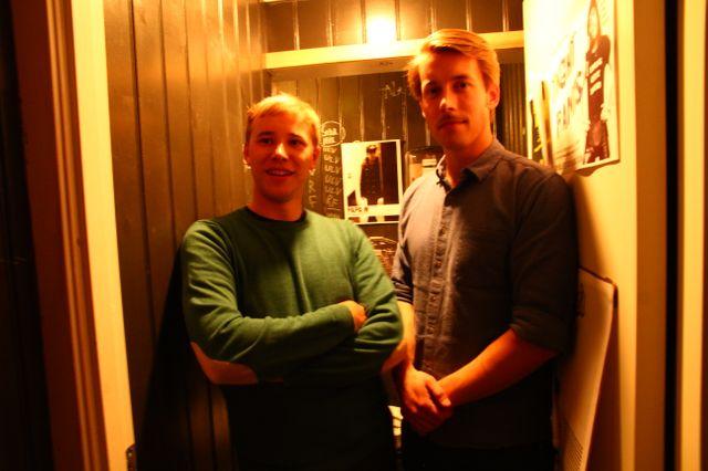 Simen et Andre de Spoon train à Oslo