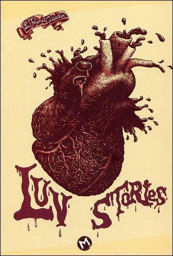 Couverture de Luv Stories, Les Frères Guedin, éditions Même Pas Mal, 2012
