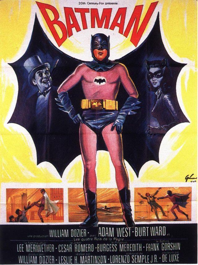 affiche batman 1966