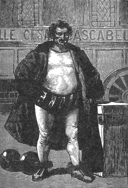 César Cascabel. Illustration issue de ''César Cascabel''