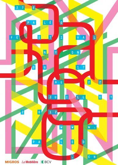 Affiche Paléo Festival 2012