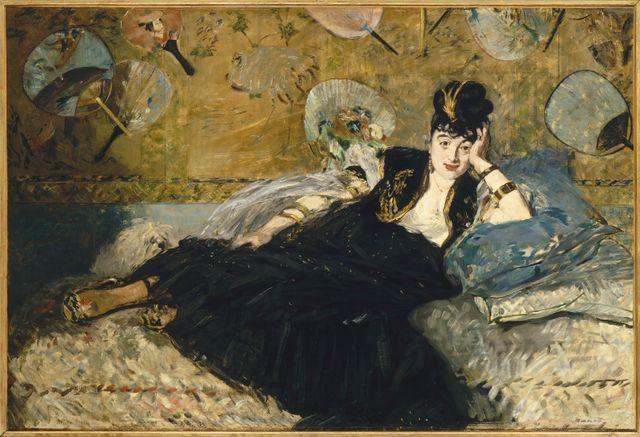 La dame aux éventails Degas
